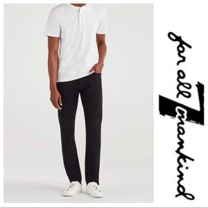 💕SALE True Religion Black Italian Fabric Straight